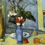 ポール・セザンヌ『青い花瓶』