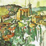 ポール・セザンヌ『ガルダンヌの村』