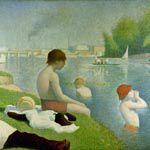 ジョルジュ・スーラ『アニエールの水浴』